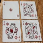 infinitas playing cards - review - court cards - diamonds
