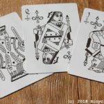infinitas playing cards - review - court cards - spades