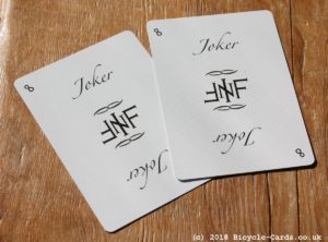 infinitas playing cards - review - jokers