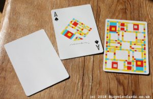 mondrian braodway playing cards - review - ace of spades and special cards