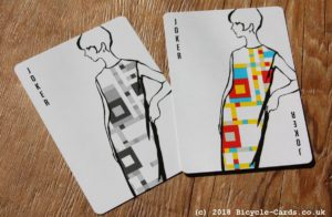 mondrian braodway playing cards - review - jokers