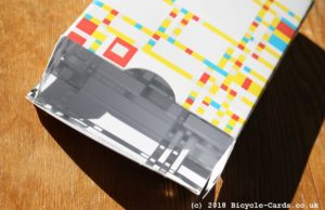 mondrian braodway playing cards - review - tuckcase detail - inside