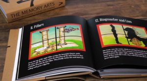 the memory arts - review - beautifully illustrated