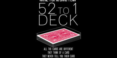 wayne fox and david penn 52 to 1 deck review