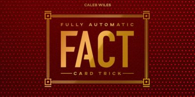 caleb wiles - fully automatic card trick - review