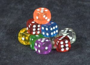 john carey - dice dice baby - review - nice quality dice