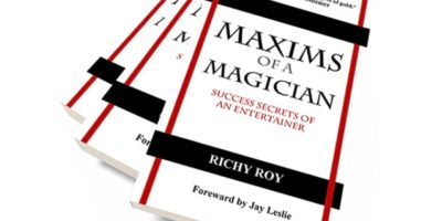richy roy - maxims for a magician - review